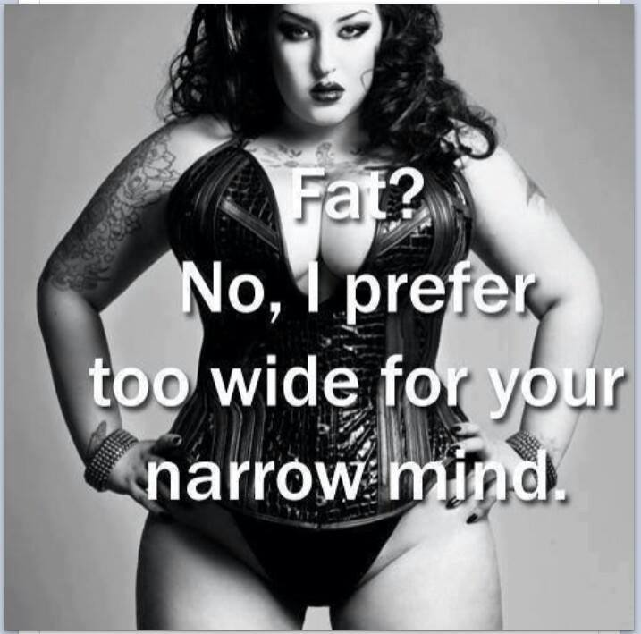 Curvy, Plus Size, or Fat.. What difference does it make?